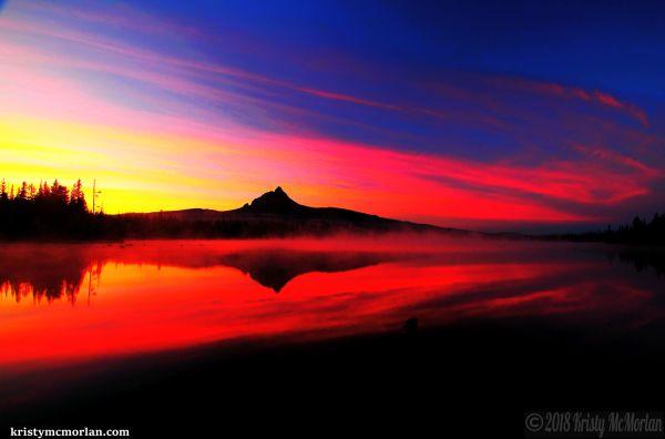 Big Lake, Mt Washington, Santiam Pass, Oregon