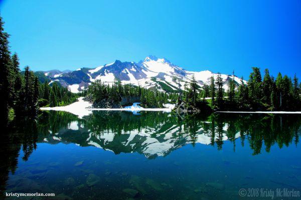 Bays Lake, Mt Jefferson, Jefferson Park, Oregon