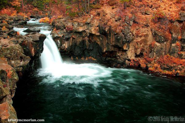 Lower McCloud Falls, Shasta, California