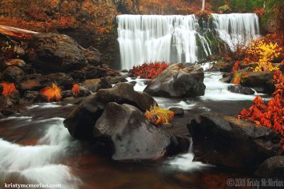 Middle McCloud Falls, Shasta, California