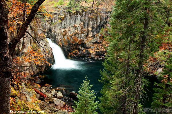 Upper McCloud Falls, Shasta, California