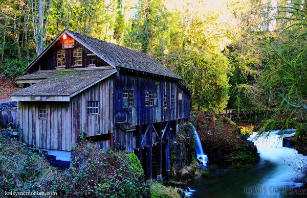 Ceder Creek Grist Mill, Woodland, Washingtion