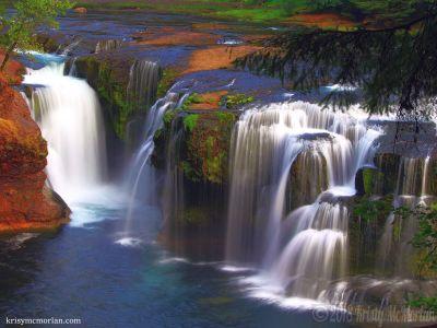 Lower Falls, Gifford Pinchot National Forest, Washington