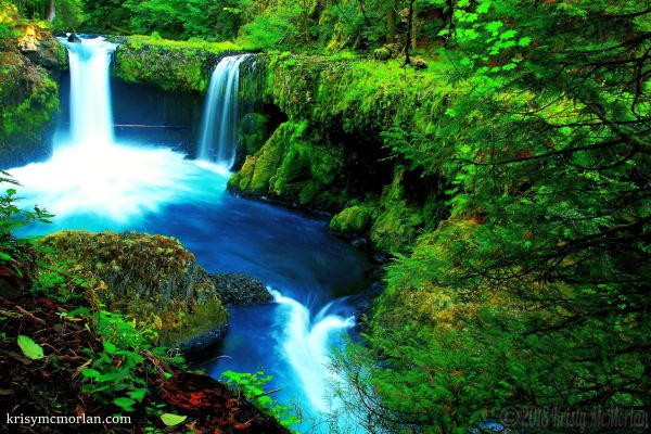 Spirit Falls, Columbia River Gorge, Washington
