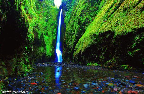 Oneonta Falls,Columbia River Gorge, Oregon