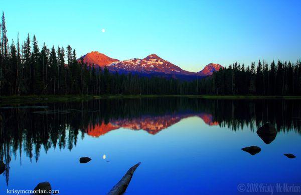 Scott Lake, McKenzie Pass Highway, Oregon