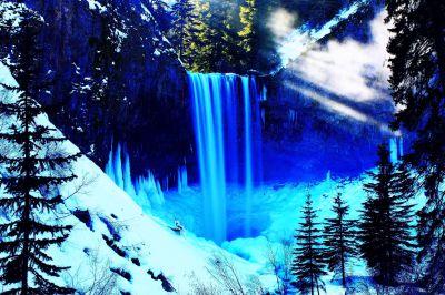 Tamanawas Falls, Mt Hood, Oregon