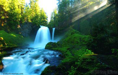 Sahalie Falls, McKenzie River, Oregon