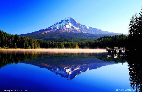 Trillium Lake, Mt Hood, Oregon