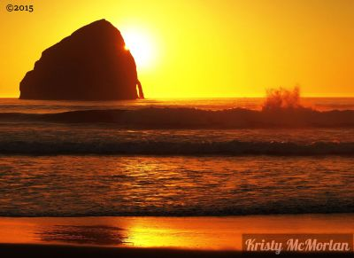Hay Stack Rock, Pacific City, Oregon