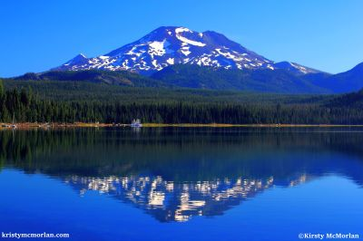Elk Lake, South Sister, Cascade Lakes Highway, Bend, Oregon