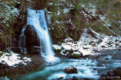 Steep Creek Falls, Columbia River Gorge, Washington