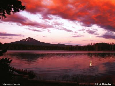 Elk Lake, Cascade Lakes Highway, Bend, Oregon