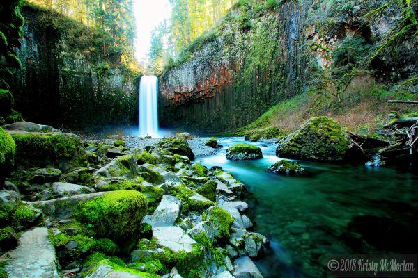 Abiqua Falls, Scotts Mills, Oregon