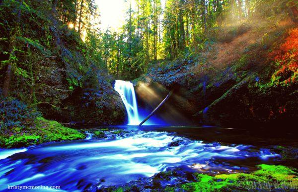 Lower Butte Falls, Scotts Mills, Oregon