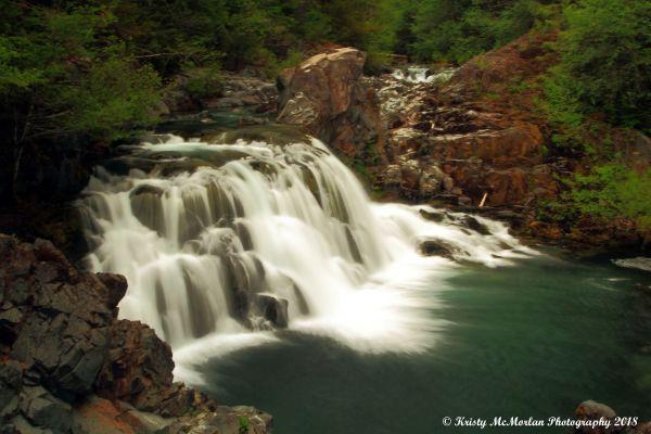 Saw Mill Falls, Opal Creek Wilderness, Oregon