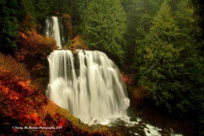 Mt. Jefferson Wilderness Waterfall