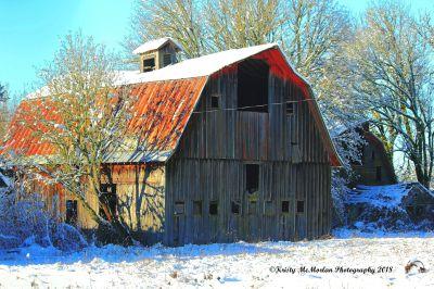 Oregon Old Barn