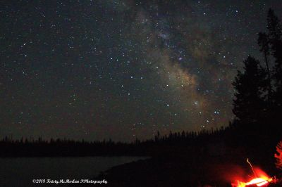 The Milky Way, Central Oregon