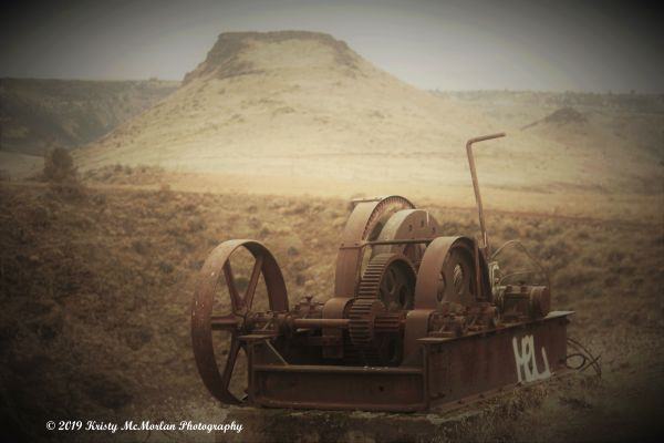 Abandoned Machinery In Oregon