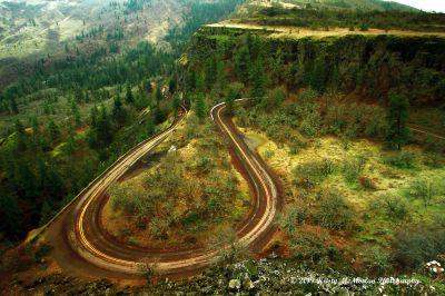 Rowena Crest Viewpoint, Oregon