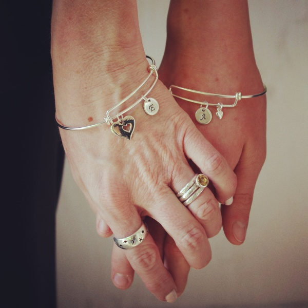 Mother Daughter Bangle Bracelets