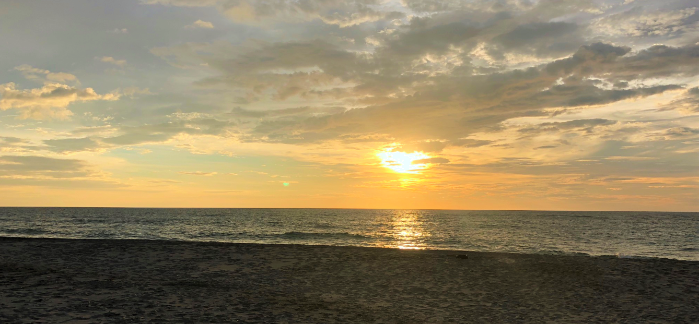 Enjoy the peaceful sunset