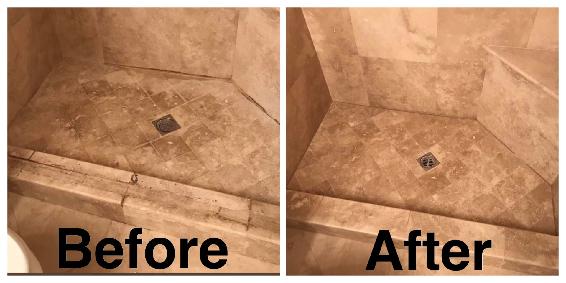 Saturnia Marble Shower