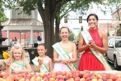 Annual Georgia Peach Festival, June 7-8 Fort Valley, June 15 Byron