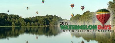 Hot air balloon festival at Lake Blackshear - June 21-22-23