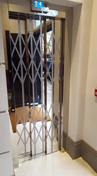 Lattice door design