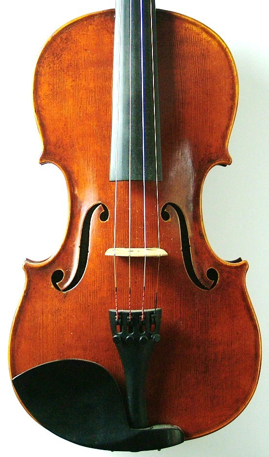 Violin made by JW Robinson #225