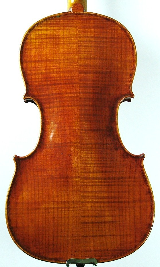 This violin's back