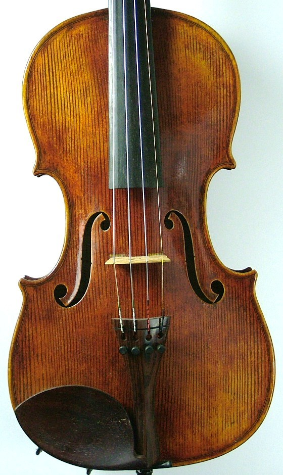 Violin made by JW Robinson #218