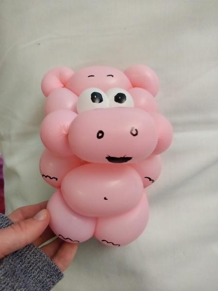 Hippo balloon