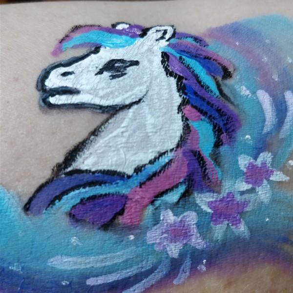 Pony facepaint