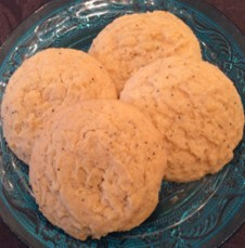 Lemon Poppy Seed Muffin Cookies