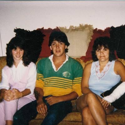 My sister Wanda, brother Greg and myself.
