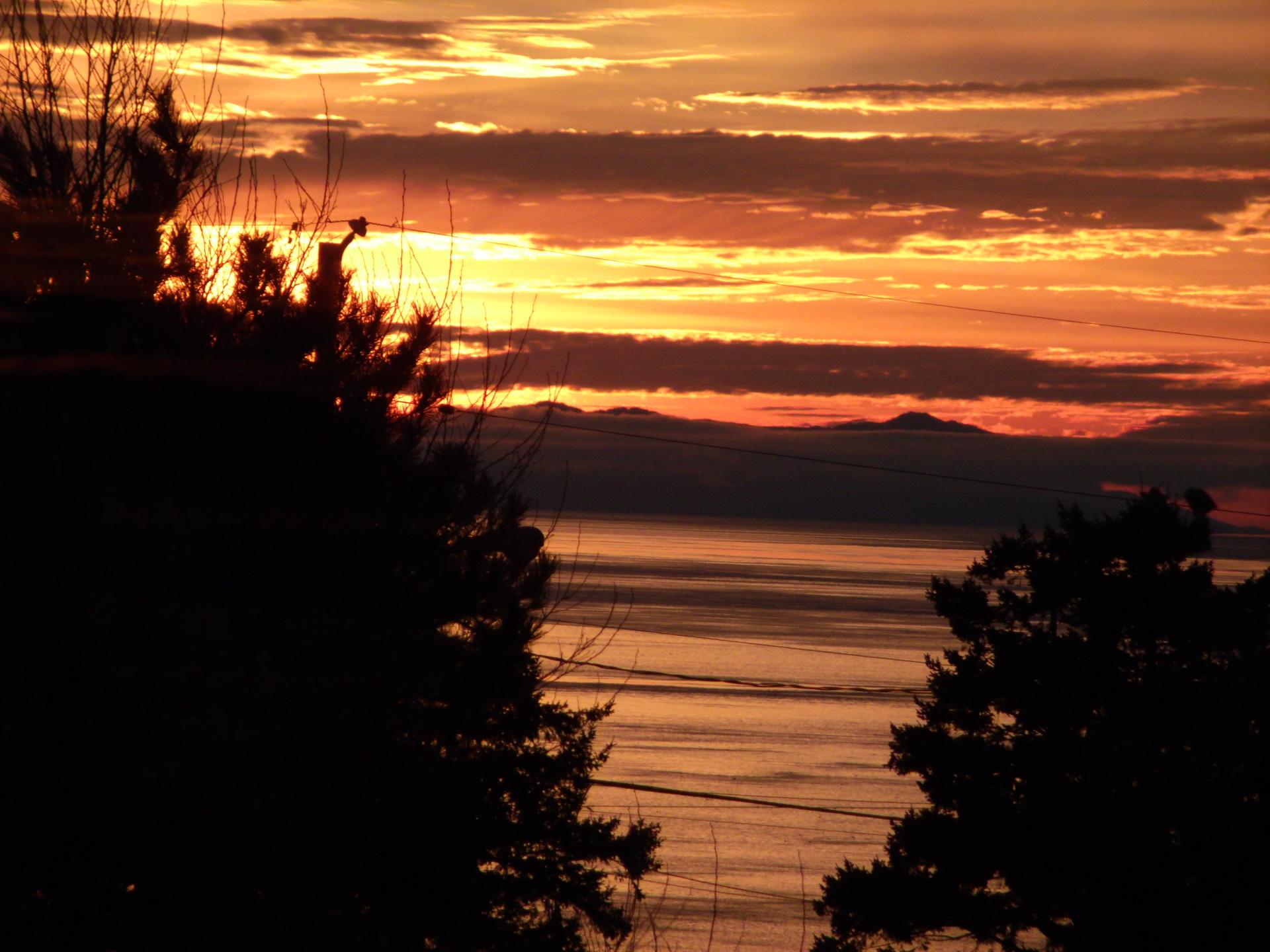 Campbell River, B.C. sunrise