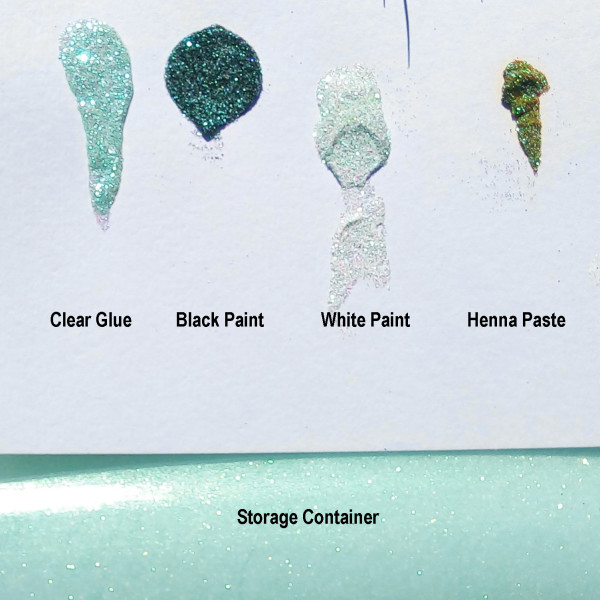 Crystallina Frosted Mint - Sheer with Color Shifting