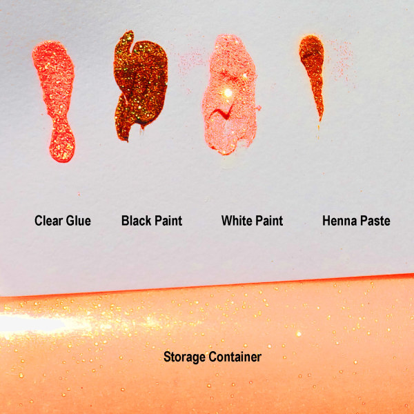 Crystallina Orange Shebert - Sheer with Color Shifting
