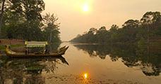Kongkear Angkor Sunset