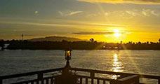 Mekong Cruise Sunset