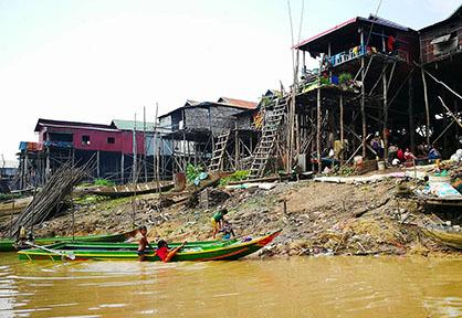 Kompong Khleang Village
