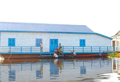 Mechrey Floating Village
