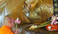 Phnom Kulen Reclining Buddha