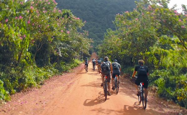 Biking in Kep