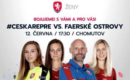 Kvalifikace žen, Česká republika - Faerské ostrovy