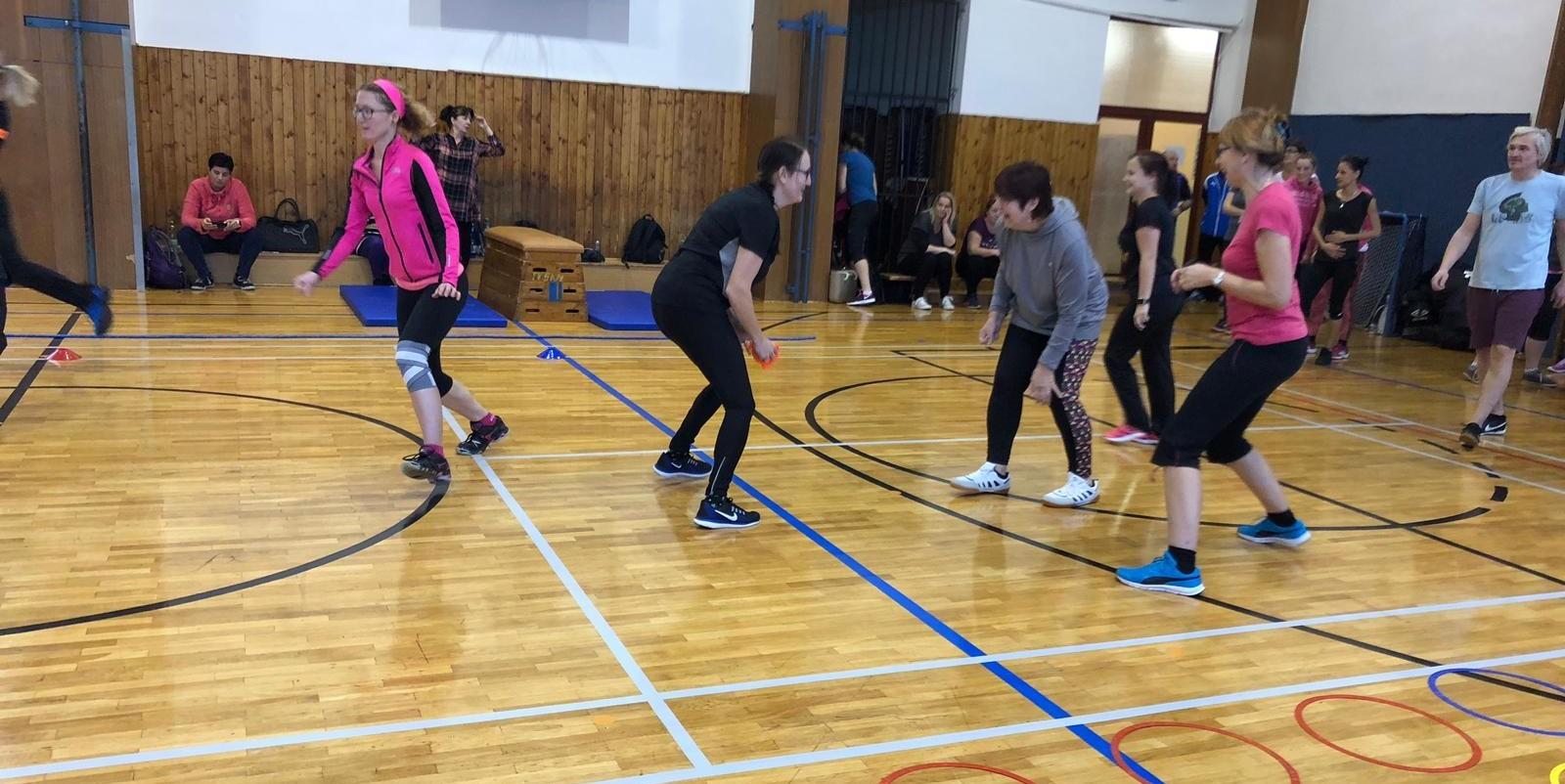 Semináře Škola v Pohybu v Teplicích se zúčastnilo 40 pedagogů
