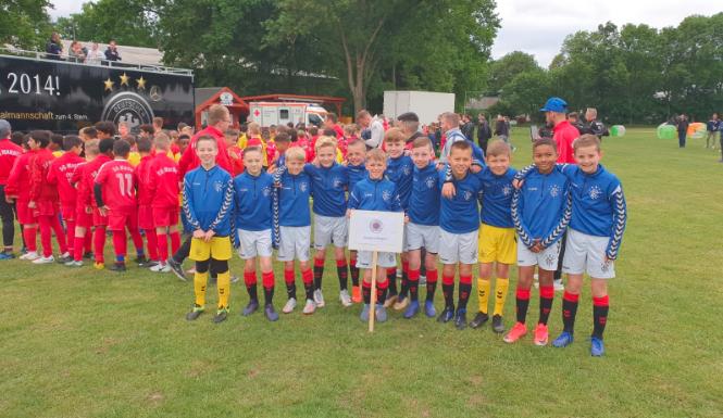 Slavia Praha vyhrála turnaj U13 v Roudnici za účasti Glasgow Rangers